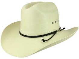 Stetson Carson Comfort Westernhut Cowboyhut aus Stroh - beige 54 -