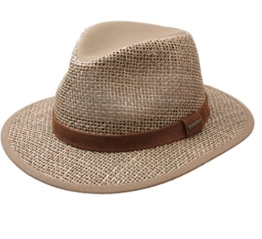 Stetson - Fedora Hut herren Medfield Seagrass - Size XL -