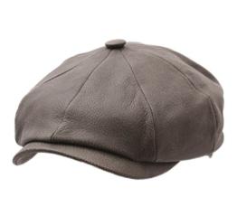 Stetson - Flatcap herren Hatteras Chevrette - Size L - olive-51 -