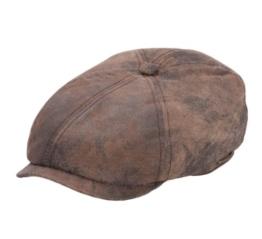 Stetson - Flatcap herren Mccook Pigskin - Size S -