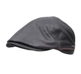 Stetson - Flatcap herren Redding - Size L - noire -