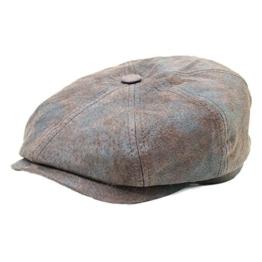 Stetson Hatteras Schweinehautmütze Braun XL -