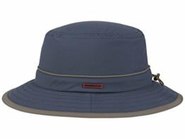 Stetson Kettering II Outdoor Bucket Stoffhut mit UV-Schutz - blau L/58-59 -