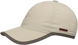 Stetson Kitlock Outdoor Baseballmütze Basecap mit UV-Schutz - beige/74 L/58-59 -