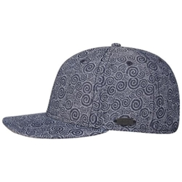Stetson Shafter Ornament Cap Cap Baseballcap Sommercap Basecap Sommercap Basecap Baseballcap Cap (One Size - blau) -