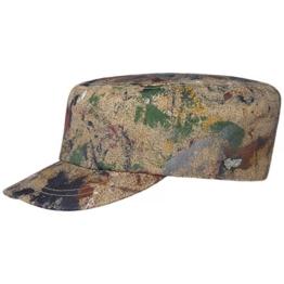 Stetson Splashes Army Cap Armycap Military Urban Castro Kappe Baumwollcap Baumwollcap Cap (M/56-57 - bunt) -