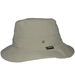 Stoffhut Outdoorhut UV 40+ Schutz Gore-Tex Wegener Unisex 2 Farben (59, Oliv) -