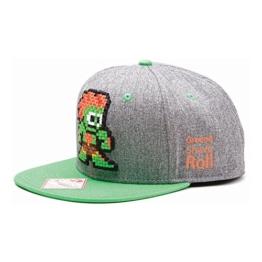 Street Fighter - Pixel Blanka Snapback Baseball Cap -