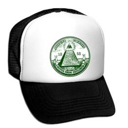 Tedd Haze Mesh Cap - Freimaurer & Illuminati 23 -