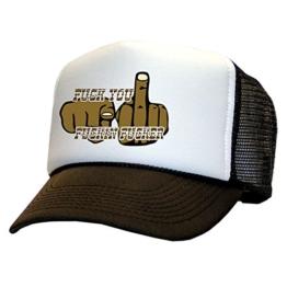 Tedd Haze Mesh Cap - Fuck U Fuckin' Fucker -