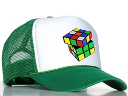 Tedd Haze Mesh Cap Magic Dice / grün -