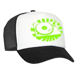Tedd Haze Mesh Cap Platten-Gott green -