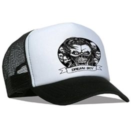 Tedd Haze Mesh Cap - Skull Dream Boy -