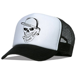 "Tedd Haze Mesh Cap - Skull of ""Dollar Bill"" -"