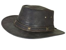 Thor Equine Kinder - Lederhut Cowboyhut Westernhut, Stokes, XXS - XS XXS -