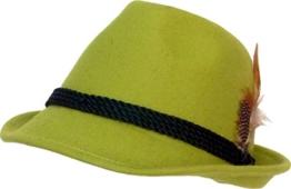 Trachtenhut apfelgrün 59 -