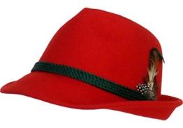 Trachtenhut Rot 57 -