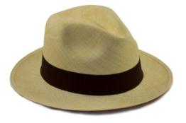 Tumi Original Panama Hat. roll- und faltbar, aus natürlichem straw. Fairtrade ^verschiedenen Farben besonders atmungsaktiv und leicht Sonnenhut von Panama Hut UK'Tumi der führenden Hersteller., Braun, 54 cm -