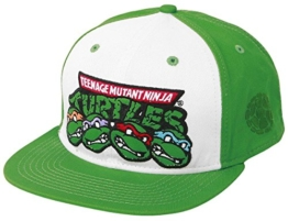 Turtles Snap Back Cap (4 Turtles) -