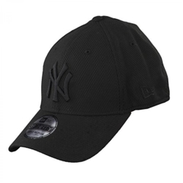 Unterdrückt New Era - New York Yankees - 39thirty Flexfit Cap - Stretch Diamond - Black - M - L -