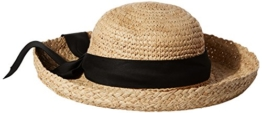 UV hat for women Whiteh big brim from Scala - Natural -