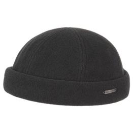 Vangordon Dockermütze Stetson peters cap (L/XL (58-61) - schwarz) -