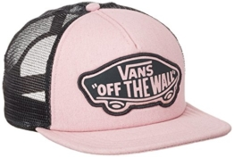 vans Damen Baseball Cap BEACH GIRL TRUCKER HAT V00H5L, Gr. One Size, Rosa (PINK LADY-PHANTOM LZX) -
