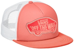 vans Damen Baseball Cap BEACH GIRL TRUCKER HAT V00H5L, Gr. One Size, Rosa (GEORGIA PEACH L3U) -