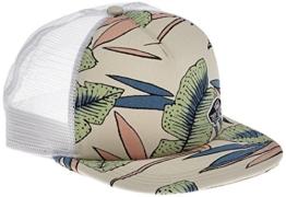 vans Damen Baseball Cap BEACH BOUND TRUCKER VA31SI, Gr. One Size, Mehrfarbig (WHITE SAND TROPICAL M6V) -