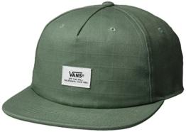 vans Herren Baseball Cap Helms Unstructured Grün (Laurel Wreath Afr), One Size -