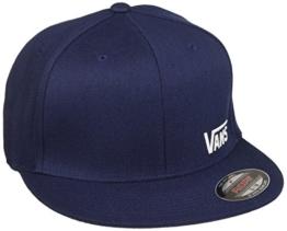 vans Herren Baseball Cap SPLITZ V00CFK, Gr. Medium, Blau (DRESS BLUES-WHITE 5S2) -