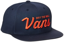 vans Herren Baseball Cap Wilmington Snapback Blau (Dress Blues Lkz), One Size -