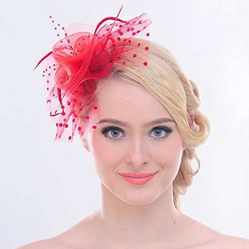 Fascinators in pink