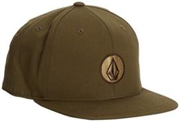 Volcom Herren Baseball Cap 110 Snapback D5541450DLK, Drill Khaki, One Size -