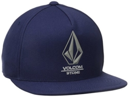 Volcom Herren Baseballmütze Bevel 110 ADJ Hat, Matured Blue, One size, D5511598MBL -