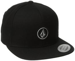 Volcom Herren Baseballmütze Quarter Twill, Black, One size, D5511561BLK -