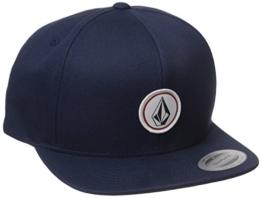 Volcom Herren Baseballmütze Quarter Twill, Smokey Blue, One size, D5511561SMB -