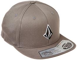 Volcom Herren Baseballmütze Semistone Hat, Dark Grey, One size, D5531550DGR -