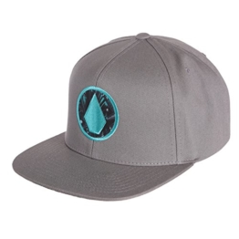 Volcom Herren Cap Open Stone Snapback, Heather Grey, One Size, D55116G0HGR -