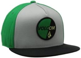Volcom Herren Cap Polyurethaneblic 110 Hat, Kelly Green, One size, D5511405KEL -
