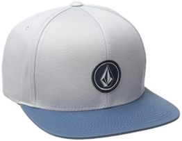 Volcom Herren Cap Quarter Twill, Grey Blue, One Size, D5511561GBL -