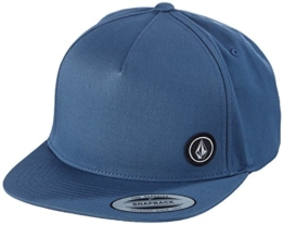 Volcom Herren Cap Single Stone, Grey Blue, One Size, D5511633GBL -