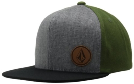 Volcom Herren Cap Upper Corner Stone Hat, Military, One size, D5511408MIL -