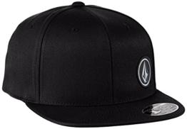 Volcom Herren Upper Corner Hat Baseballmütze, Black, One size -