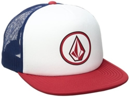 Volcom Unisex Full Frontal Chees Hat Trucker Cap Baseballmütze Snapback Schildmütze, Flight Blue, One Size -