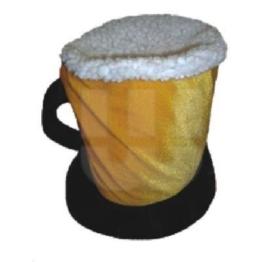 Wedekind - Bierhut aus Stoff mit Henkel -