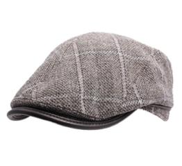 Wegener - Flatcap Herren Gwain - Size M - marron-clair -