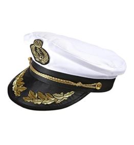 Widmann 0186S - Luxushut Kapitän, weiß -