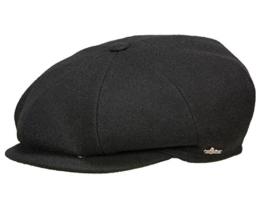 Wigens Gert Ballonmütze Schirmmütze mit Ohrenklappen aus Wolle - black 63 -