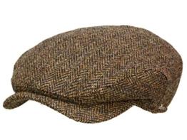 Wigens Ivy classic cap 110017 Ballonmütze Schirmmütze Newsboy Cap - Coffe 61 -